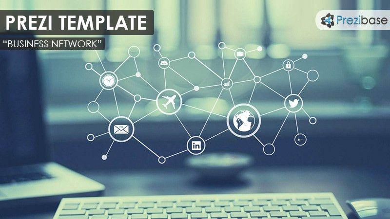 Business Network Prezi Template | Prezibase