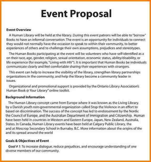 6+ example of event proposal | quote templates