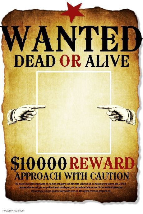Free Wanted Poster Template - formats.csat.co