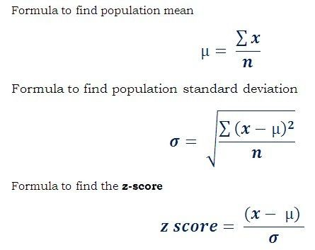 Z Score or Standard Value Calculator