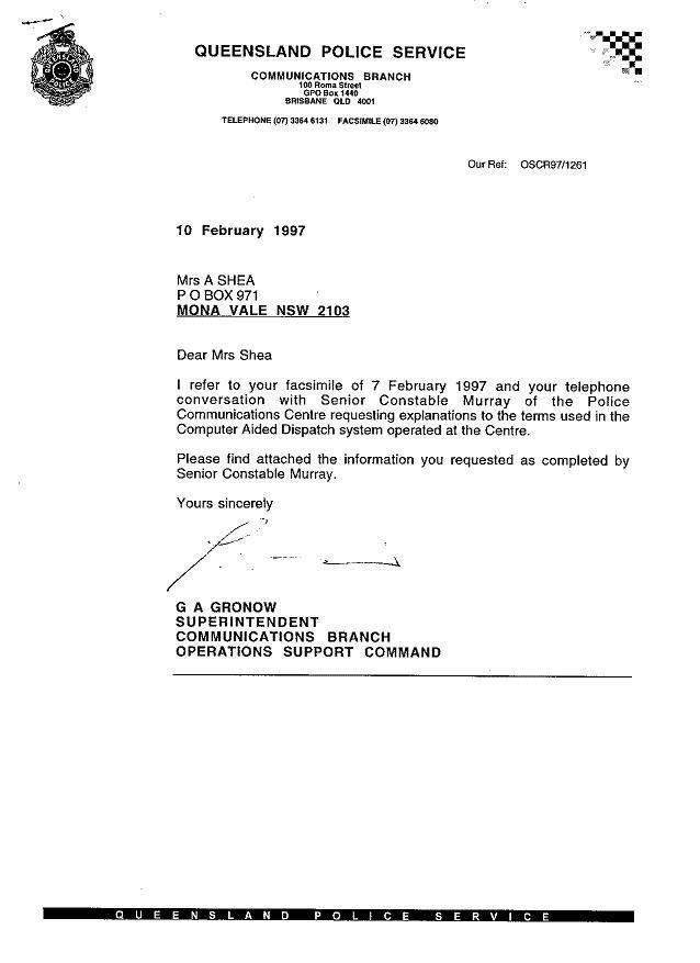 Accident Report Letter Format   Letter Format 2017