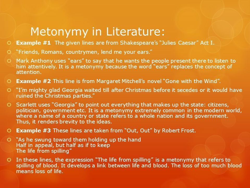 Metonymy and Synecdoche: Subtle Differences From Literary Devices ...