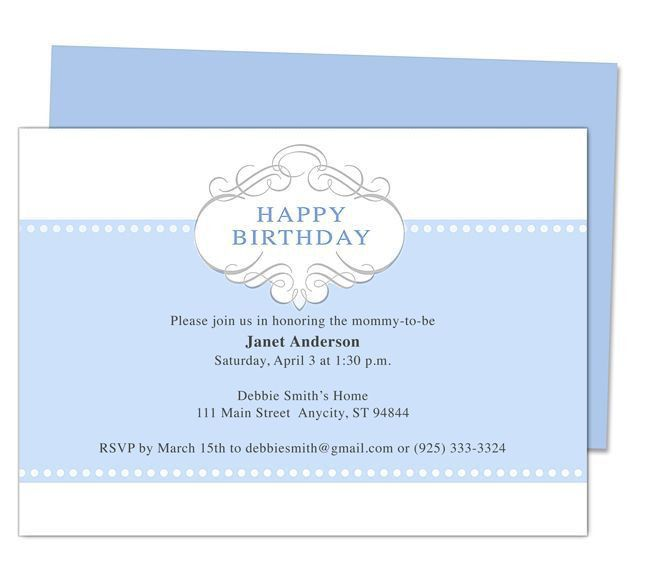 13 best Printable 1st First Birthday Invitations Templates images ...