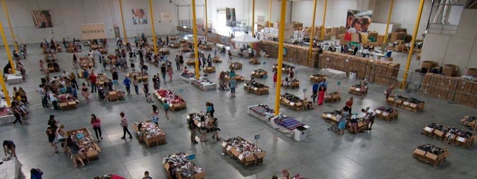 TOMS Warehouse Sale San Mateo