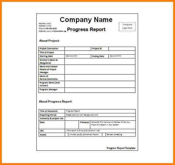 Weekly Activity Report Template. Weekly Activity Report Format ...
