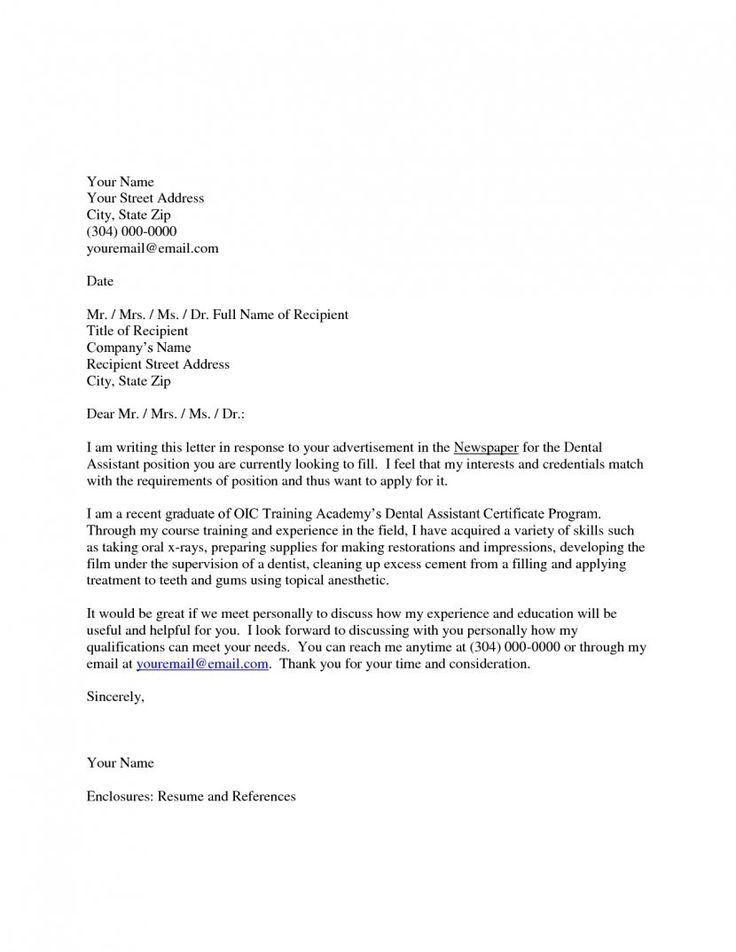 Dental Office Manager Cover Letter Sample LiveCareer. Cover Letter ...