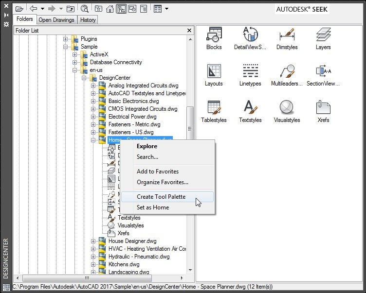 Customizing the AutoCAD Tool Palette | Tuesday Tips