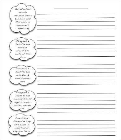 Writing Template. Letter Writing Template For Kids - Searchya ...