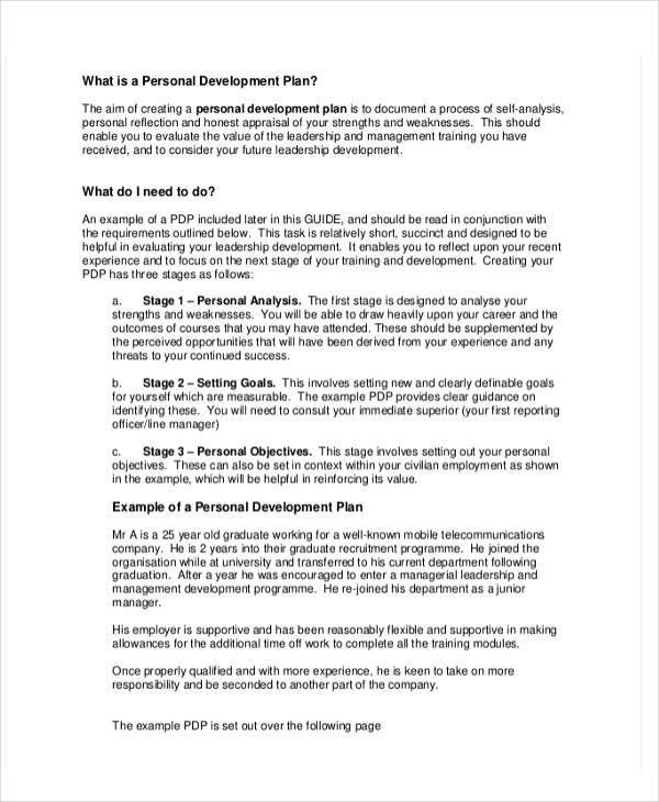 Personal Business Plan Templates - 6+ Free Word, PDF Format ...