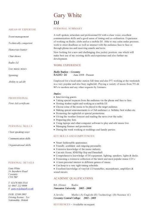 Hospitality Resume. Professional Hospitality Resume Samples ...