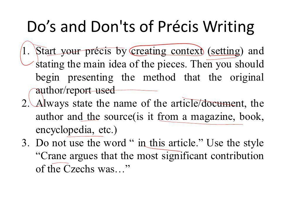 How to Write an Essay Introduction for Essay and precis writing