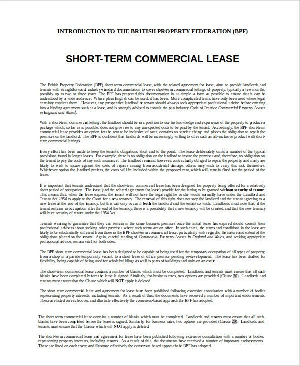 Commercial Lease Termination Agreement. Commercial Lease ...