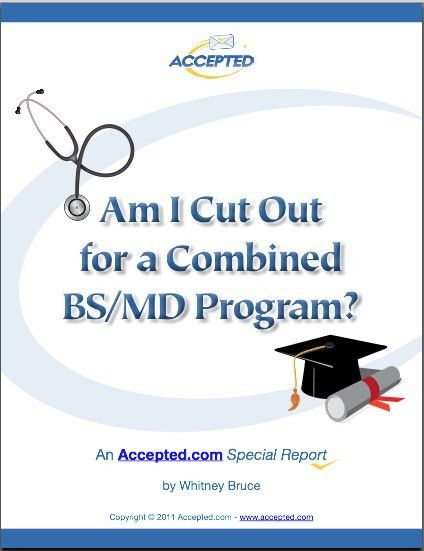 Find out if a rigorous joint BS/MD program is right for you by ...