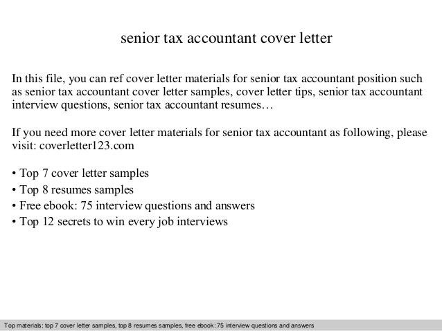 accountant cover letters