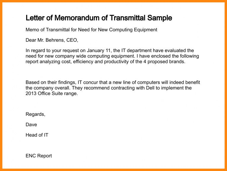 7+ example of memorandum letter | model resumed