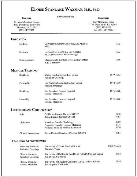 Resume Ideas - Best Template Collection