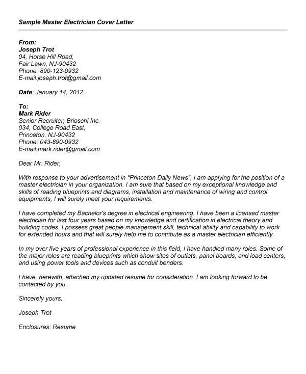 Cover Letter For Master Thesis Application | Mytemplate.co