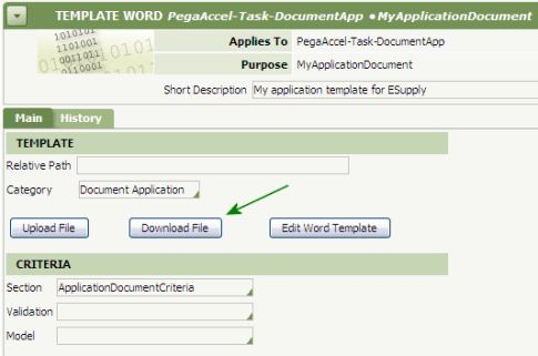 DCO 6.1 - How to customize Application Document templates | PDN