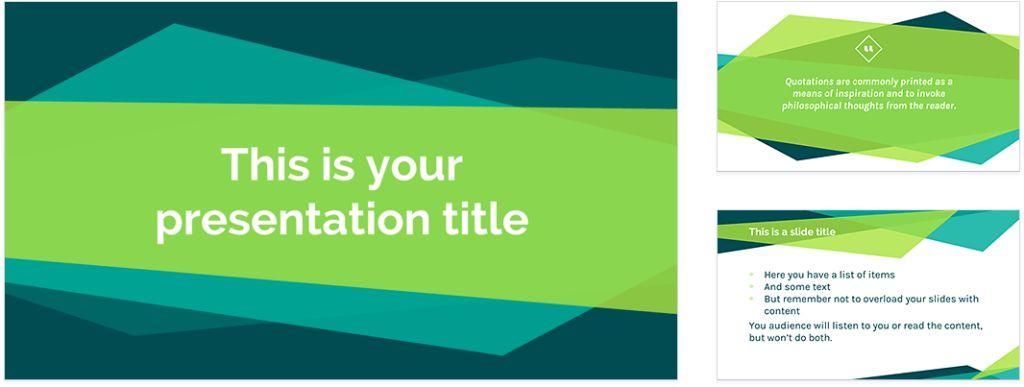 google presentation templates free presentation templates for ...