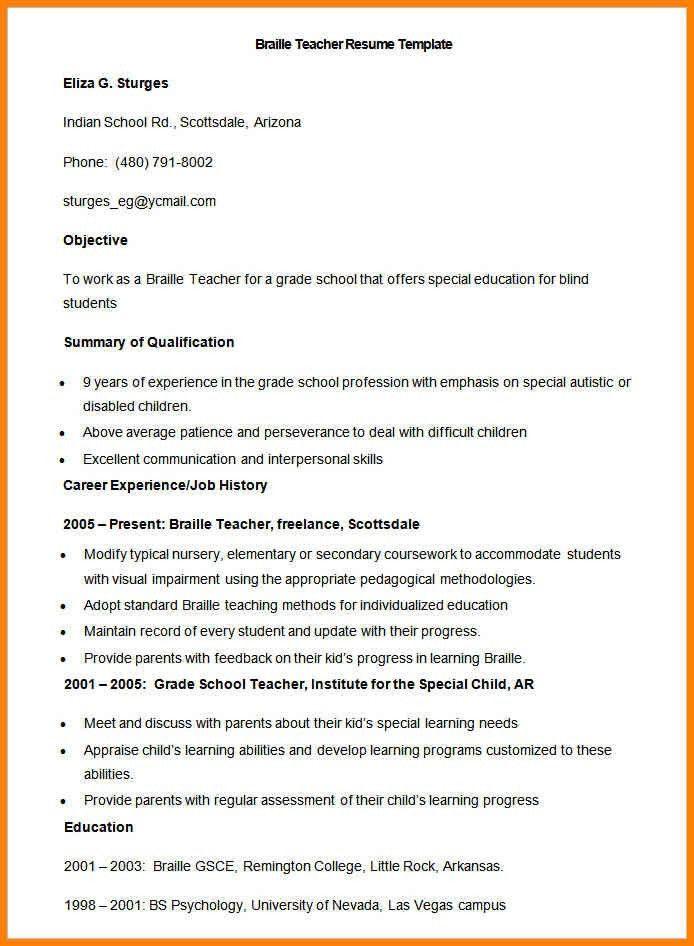 6+ educational resume format | cashier resumes