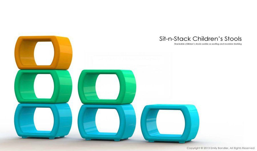 Sit-n-Stack Stools Portfolio Cover Page by Skarlet-Raven on DeviantArt
