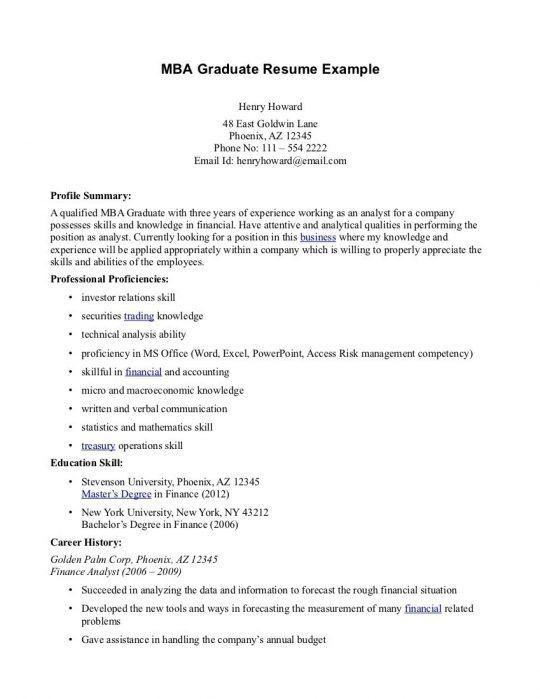 Resume Format | Free Resumes Tips