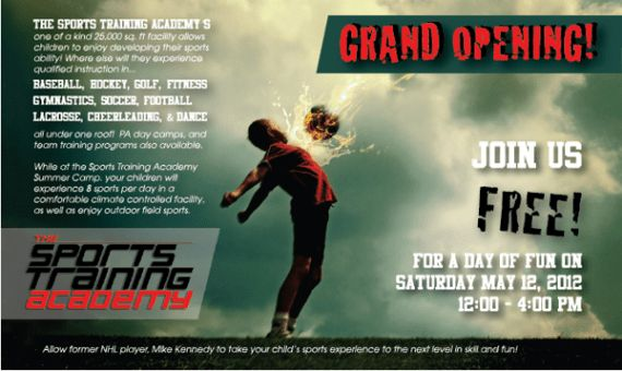 Get active - Collection of sports flyer templates » SAXOPRINT Blog UK