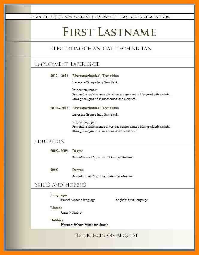 7+ resume format pdf download free | day care receipts
