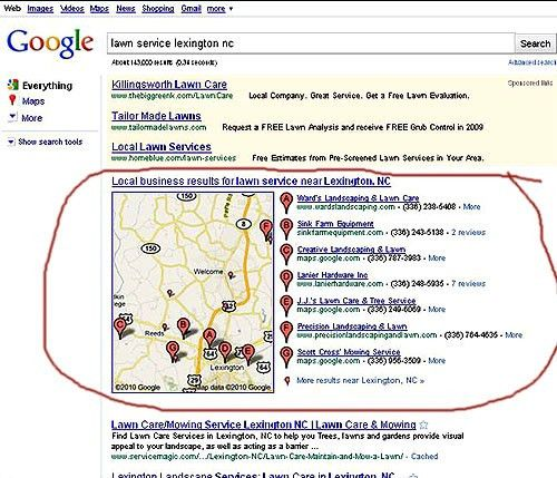 Local Search Engine Optimization - Google Places SEO