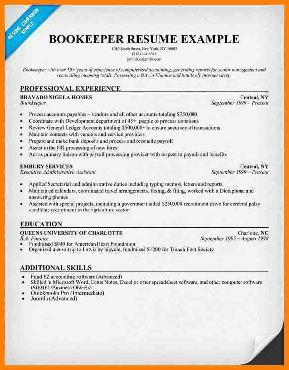 9+ bookkeeper resume examples | dialysis-nurse