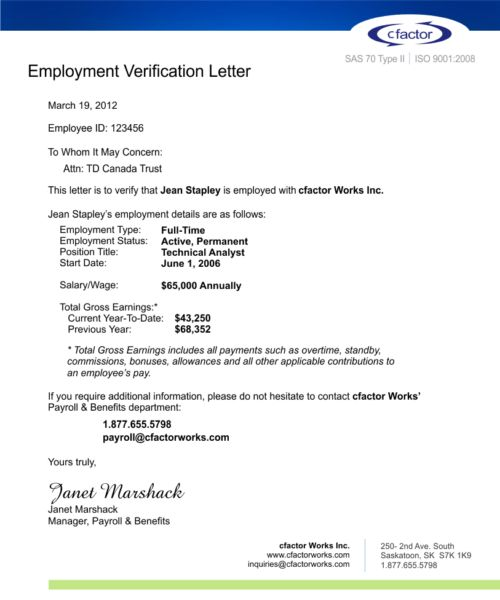 cfactor Employment Verification Service Driving New Efficiencies ...