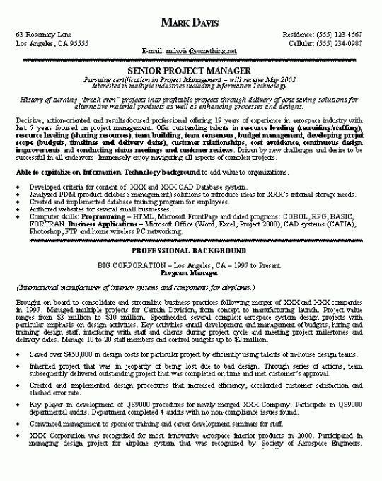 management resumes samples business management resume example
