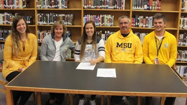Tori Martell signs national letter of intent with Montana State ...