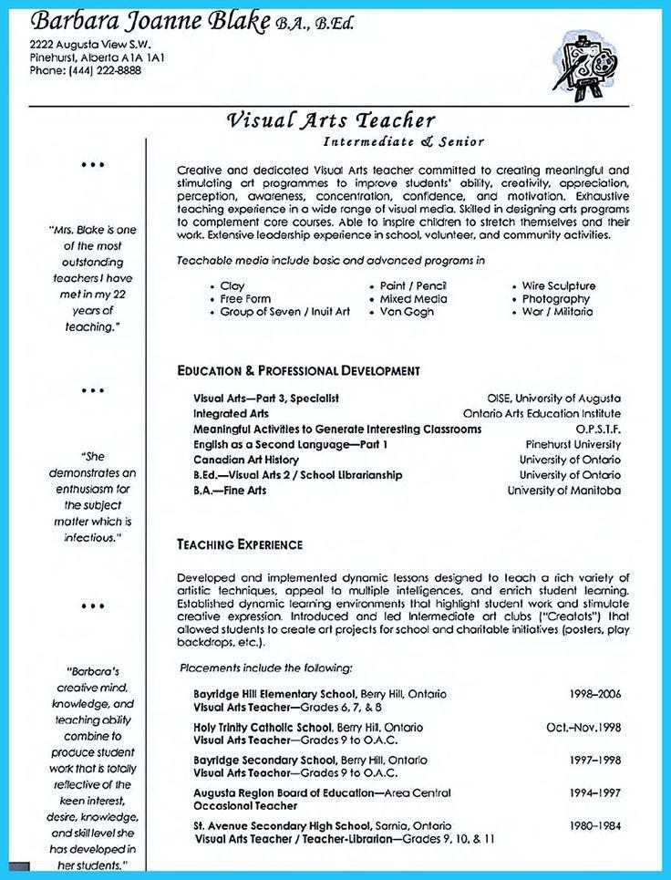 594 best Resume Samples images on Pinterest | Resume templates ...