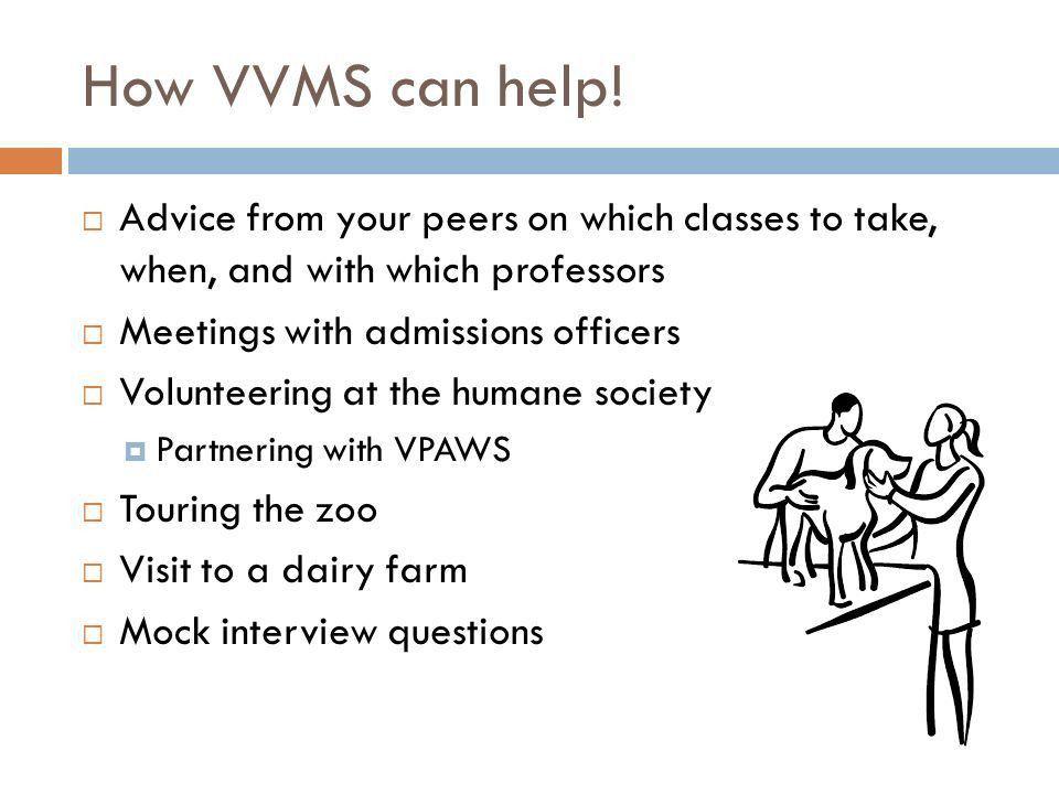 VVMS Vanderbilt Pre-Veterinary Medicine Society. General ...