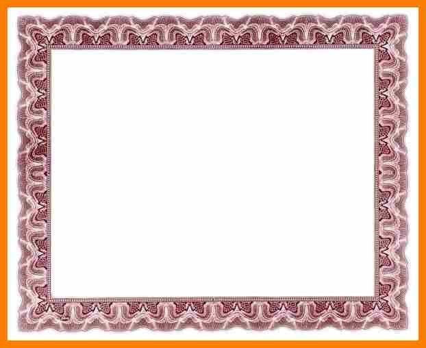 7+ certificate border for word | sephora resume