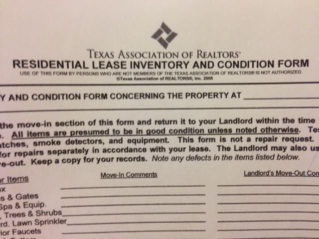 The Importance of Residential Lease Inventory and Condition Forms ...