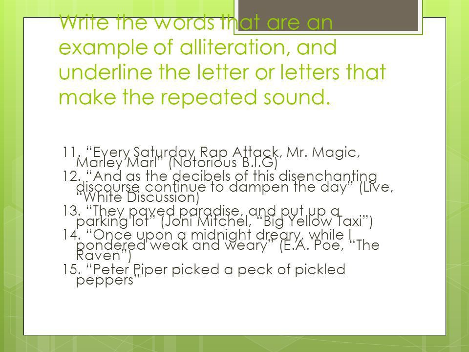 Edgar Allen Poe's Use of Poetic Sound Devices American Literature ...
