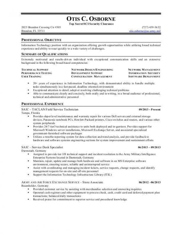 Information Security Consultant Resume - Contegri.com