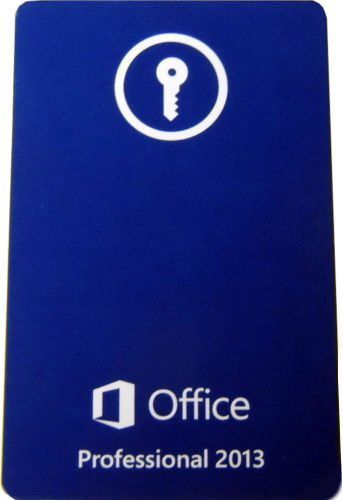 Microsoft Office Professional 2013 (Full Version), - 26916094   eBay