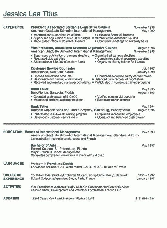 Bank Teller Resume Objective - cv01.billybullock.us