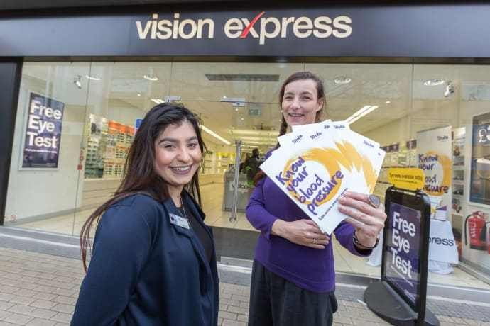 Bristol charity campaigner hosts blood pressure drive at Vision ...