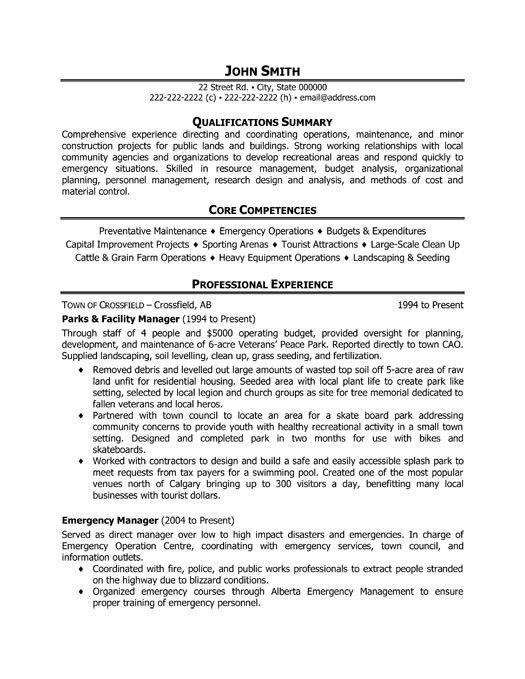 assistant property manager resume example resume templates ...
