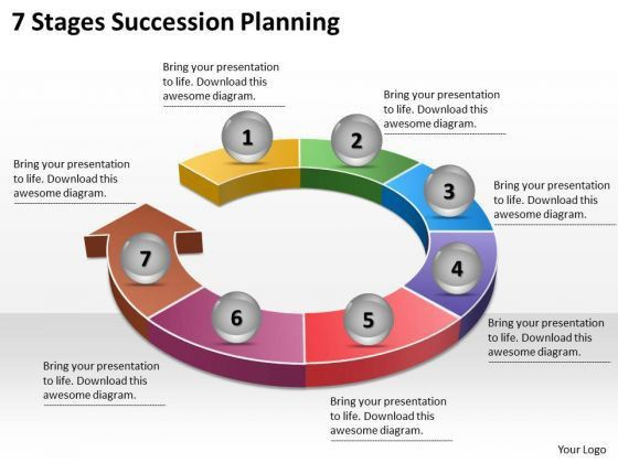 Timeline Ppt Template 7 Stages Succession Planning - PowerPoint ...