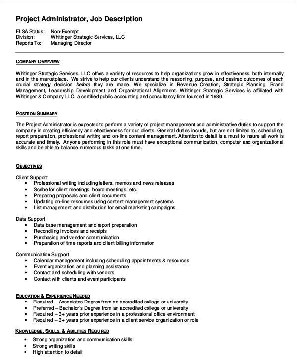 Systems Administrator Job Description. Top Linux System ...