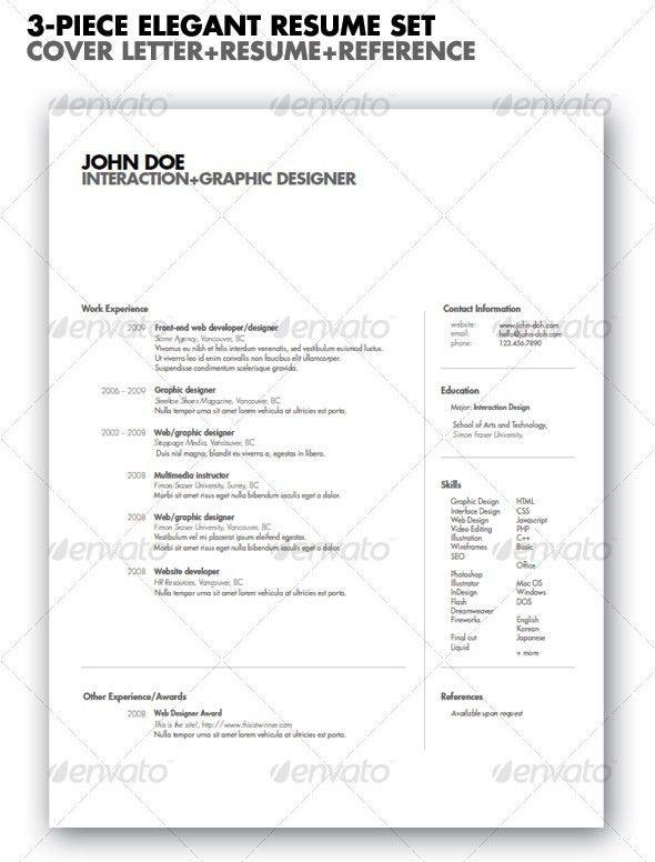 27 Stylish Resume Templates - Vandelay Design