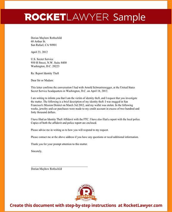 5 service letter format - Basic Job Appication Letter