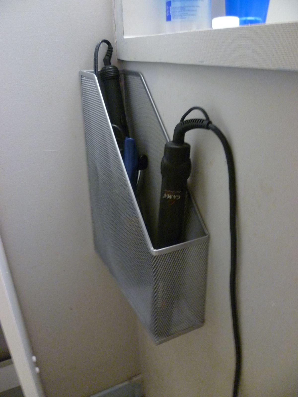 Astuce d co pour la salle de bain for Astuce de rangement pour salle de bain