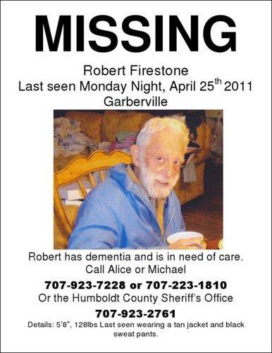 Robert Firestone still missing | SoHum Awareness