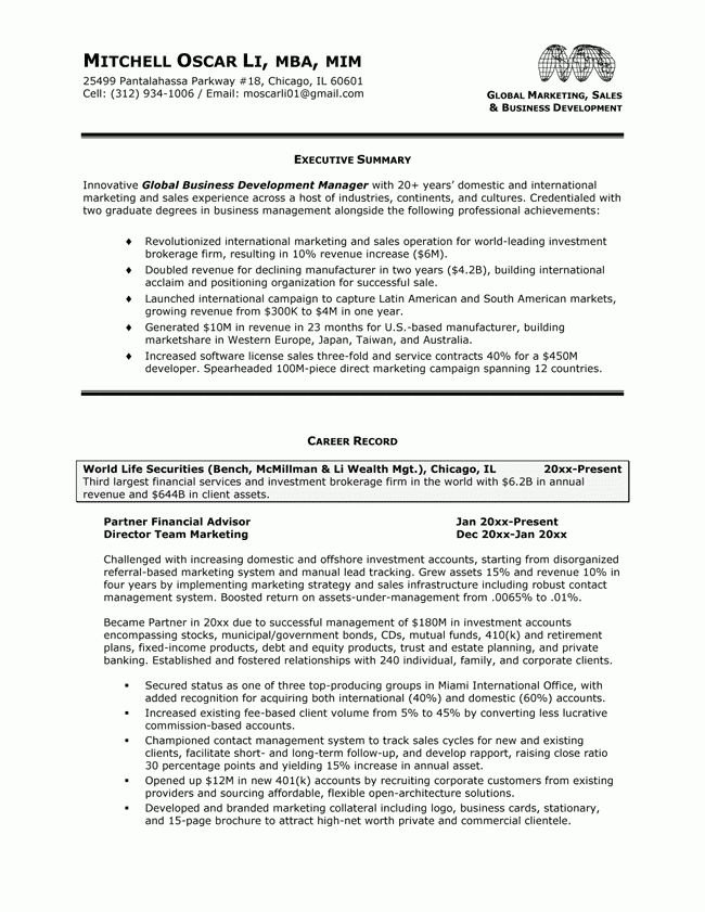 Download Executive Resume | haadyaooverbayresort.com
